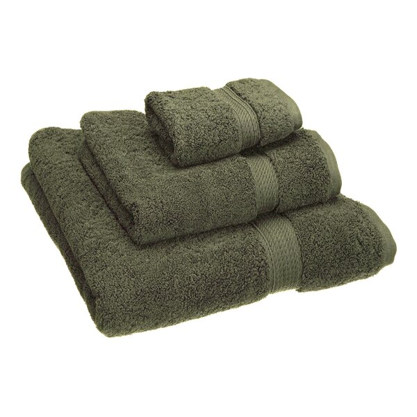 Hamden 3 Piece 100% Cotton Towel Set by Darby Home Co
